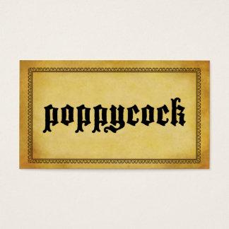 Snooting Karten (Poppycock)