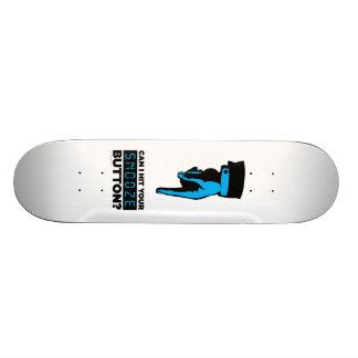 Snooze-Knopf-Skateboard Individuelle Skateboarddecks