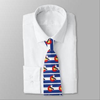 Snowboard Colorado Krawatte
