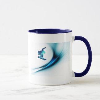Snowboard-Entwurfs-Kaffee-Tasse Tasse