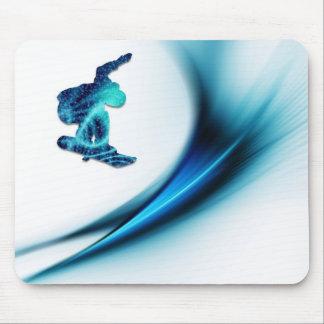 Snowboard-Entwurfs-Mausunterlage Mousepads