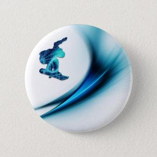 Snowboard-Entwurfs-runder Knopf Runder Button 5,1 Cm
