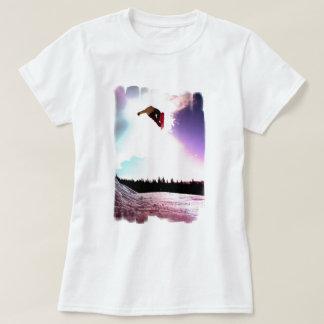 Snowboard-Luft-Damen-angepasster T - Shirt