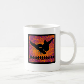 Snowboard-neuer Kern Kaffeetasse