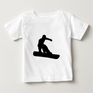 Snowboarder Baby T-shirt