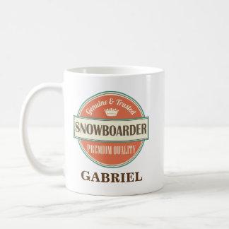 Snowboarder-Büro-Tassen-Geschenk Kaffeetasse