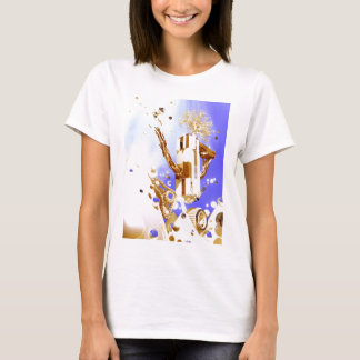 Snowboarder-Hochsprung #10 durch fameland T-Shirt