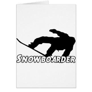 Snowboarder Karte