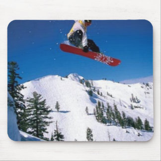 Snowboarder Mousepads