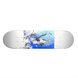 Snowboarder-Snowboarding-städtisches Skateboard #1 Personalisiertes Skateboarddeck