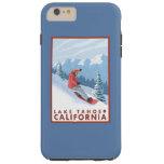 Snowboarder-Szene - Lake Tahoe, Kalifornien Tough iPhone 6 Plus Hülle