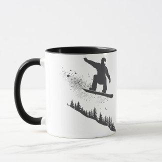 Snowboarder Tasse