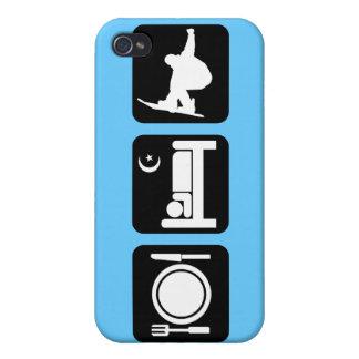 Snowboarding iPhone 4 Case