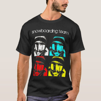 Snowboardingteam T-Shirt
