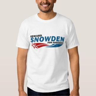 Snowden amerikanischer Held für Präsidenten Shirts