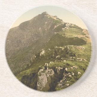 Snowdon - die letzte Meile, Gwynedd, Wales Sandstein Untersetzer