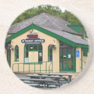 Snowdon Gebirgsbahnhof, Llanberis, Wales Getränkeuntersetzer