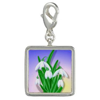Snowdrop Blume Charms