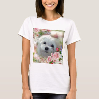 Snowdrop das maltesische T-Shirt