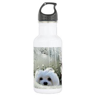 Snowdrop das maltesische trinkflasche