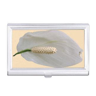 Snowflower Visitenkarte-Halter Visitenkarten Dose