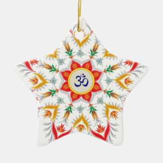 """Sn'owm Flocken!!! "" Keramik Ornament"