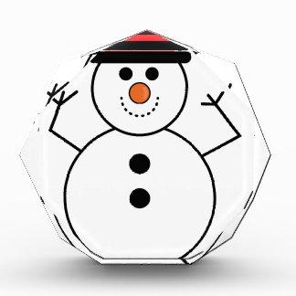 Snowman-Cartoon Auszeichnung