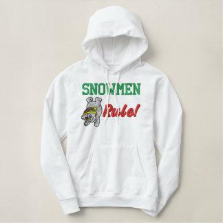 Snowman gesticktes Shirt