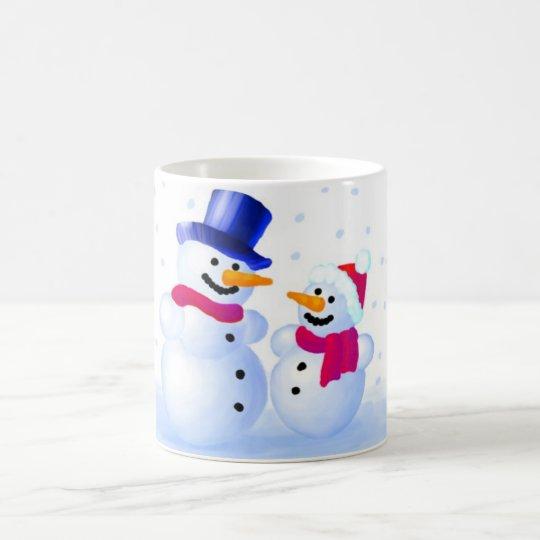 Snowman Kaffeetasse