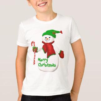 Snowman-T - Shirt für Kinder