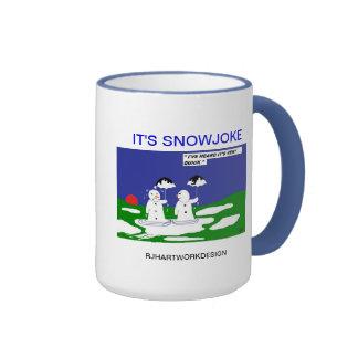 SNOWMAN-TASSE RINGER TASSE