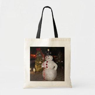 Snowman-u. Weihnachtsbaum-Taschen-Tasche Tragetasche
