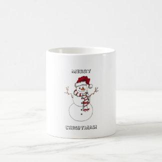 Snowman-WeihnachtsTasse Kaffeetasse