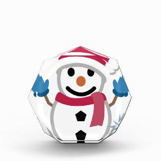 Snowman-Zeichnen Acryl Auszeichnung