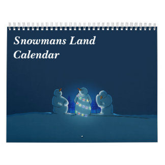 Snowmans Land-Kalender Abreißkalender