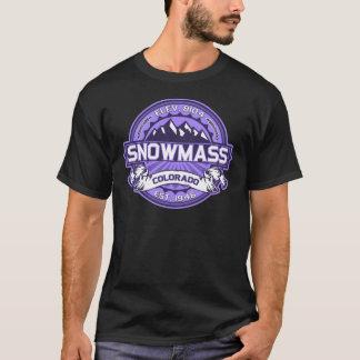 Snowmass Veilchen T-Shirt