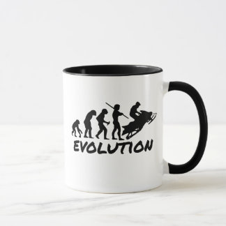 Snowmobile-Evolution Tasse