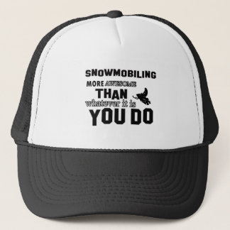 snowmobiling fantastischeres truckerkappe