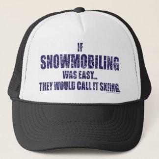 Snowmobiling-sein-EINFACH [1] Truckerkappe