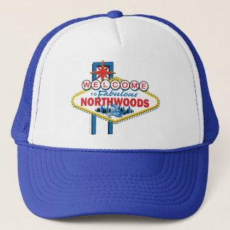 Snowmobiling/Willkommen zum Northwoods Truckerkappe