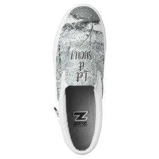 Snowshoe! Gelassen ihm schneien! Winter-Schuhe Slip-On Sneaker