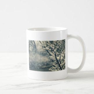 Snowy-Baum-Mausunterlage Kaffeetasse