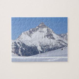 Snowy-Berg in den österreichischen Alpen - Puzzle