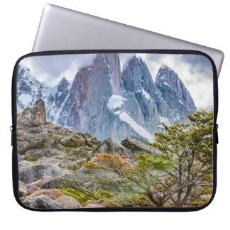 Snowy-Berge an EL Chalten Argenti Laguna-Torre Laptopschutzhülle