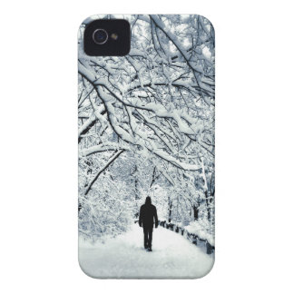 Snowy-Einsamkeit iPhone 4 Hülle