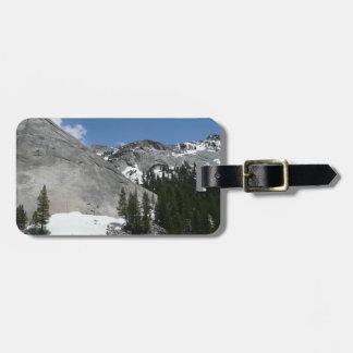 Snowy-Granit-Hauben I an Yosemite Nationalpark Gepäckanhänger