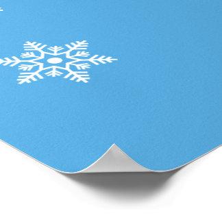 Snowy-Jagdhund Poster