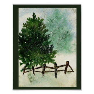 Snowy-Kiefer Poster