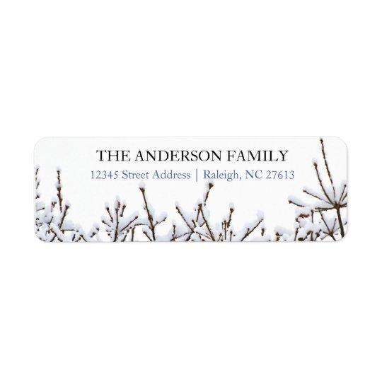 Snowy-Niederlassungen - Adressen-Etiketten Rücksendeetiketten