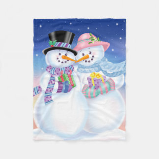 Snowy-Schatz-Decke Fleecedecke